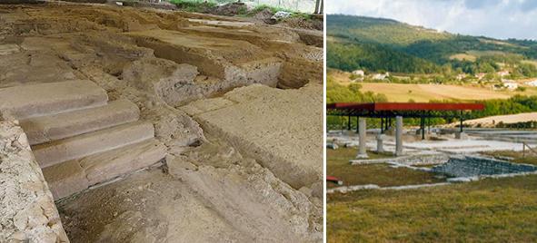 aree archeologiche attidium e sentinum fabriano
